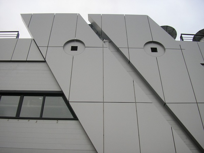 Обшивка зданий композитом