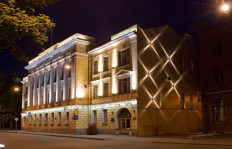 Архитектурная художественная подсветка зданий